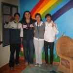 Hanh, Kandis, Trang and Linh