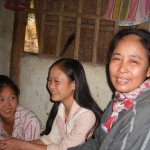 Hanh's mother and their neighbours