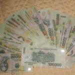 2 million Dong = AUD$150