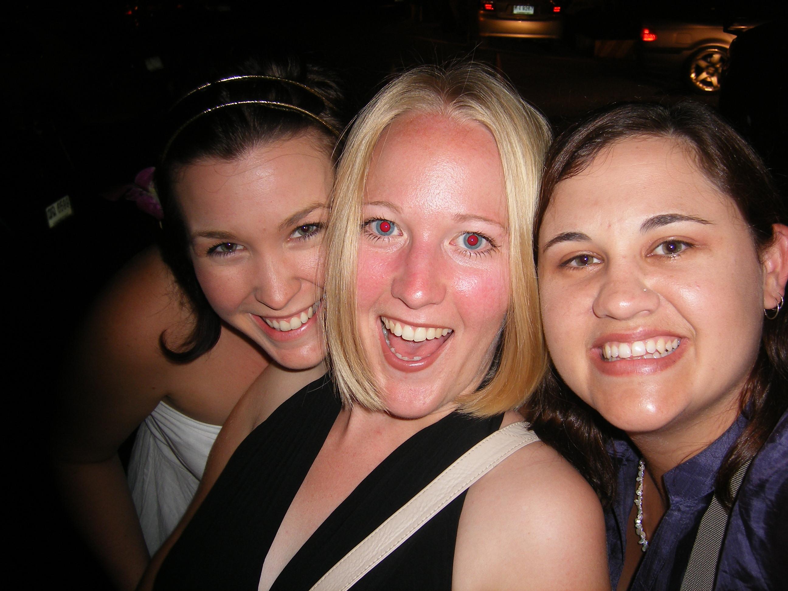 Rhiannen, Hannah and Kandis