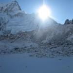 Sunrise over the Himalaya's