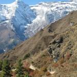 Usual scenery - The Himalaya