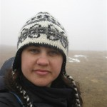 Kandis in fog and snow